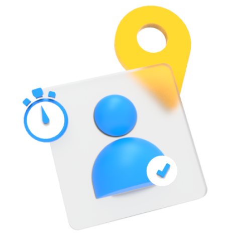Attendance and Geotagging icon